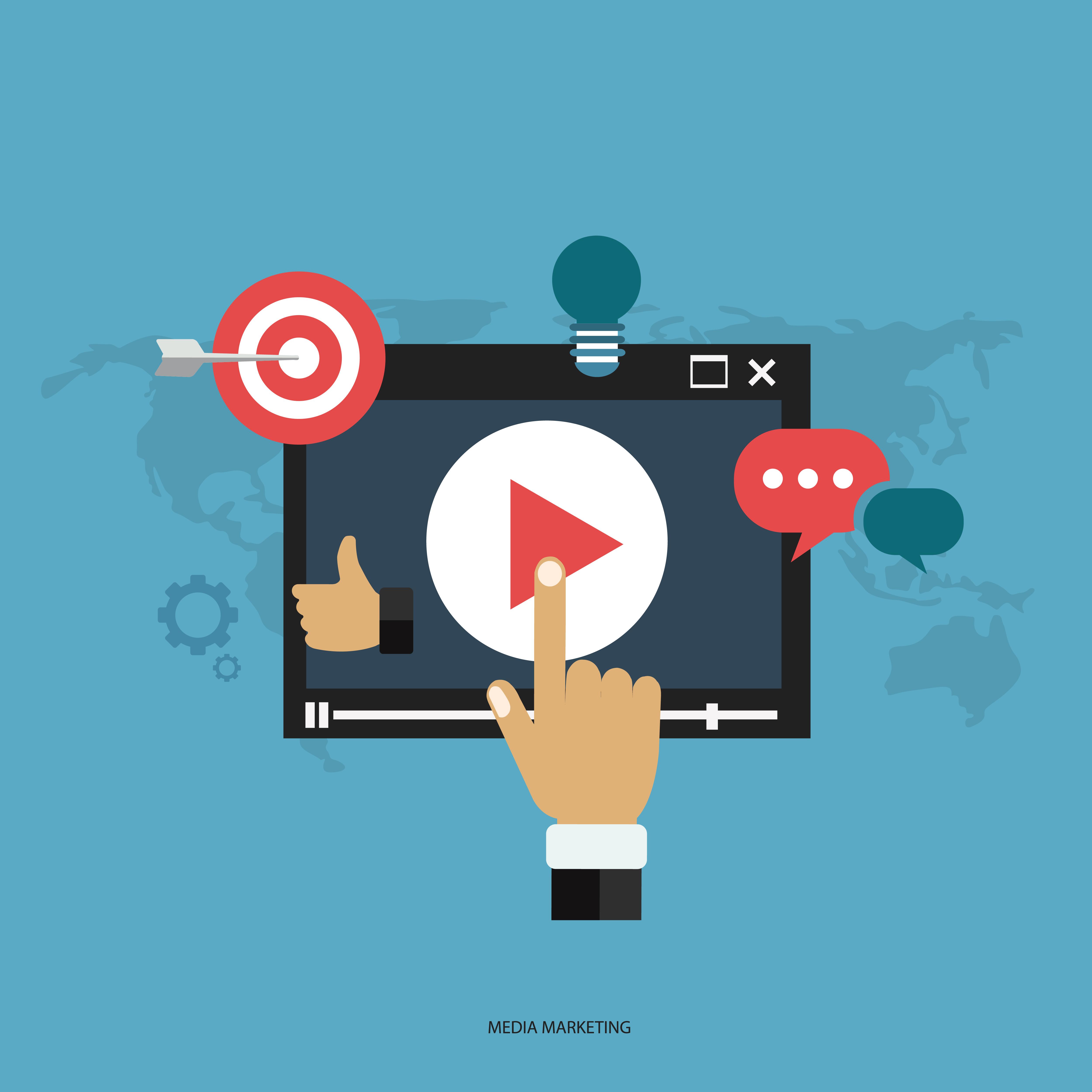 création vidéo marketing commerciales