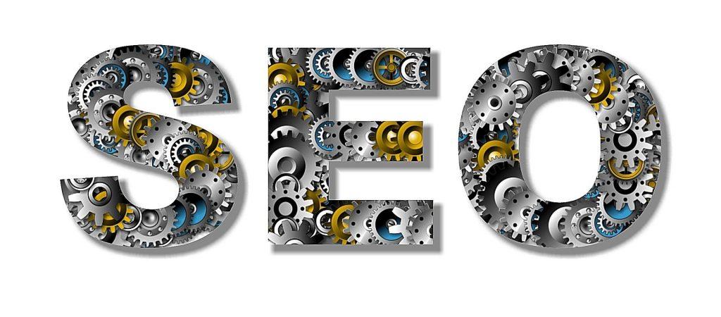 Lettre SEO en 3d, optimisation des images